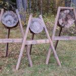Bild på 3 mål för yxkastning
